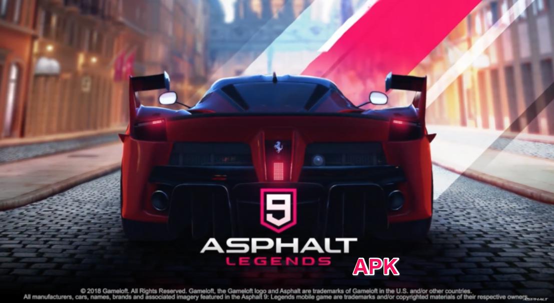 Asphalt 9 Apk Android