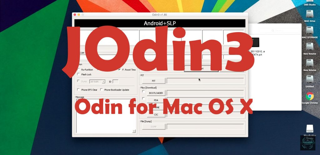 Odin for Mac JODIN3 for Download