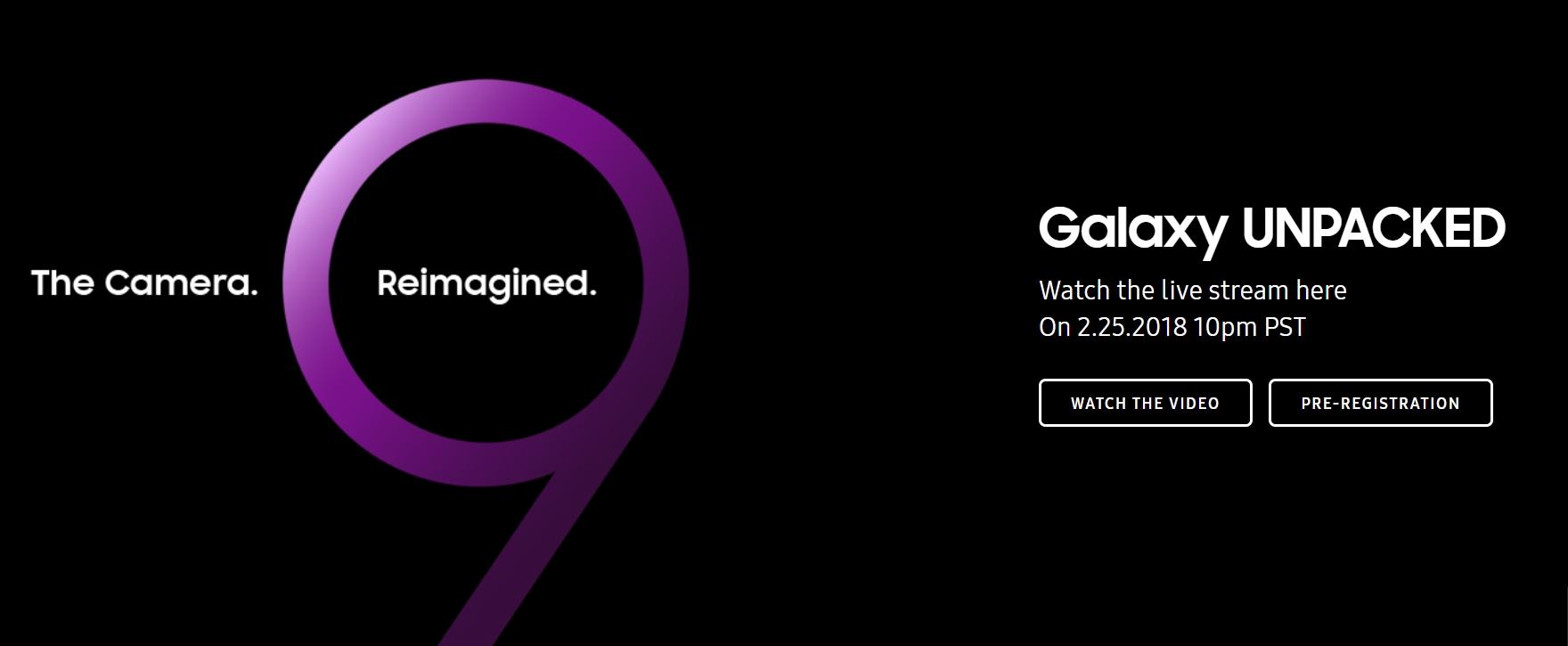 Samsung Unpacked 2018 Live resources