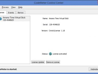 CodeMeter Control Center Image
