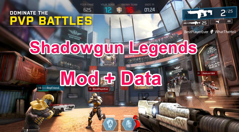 Shadowgun Legends Mod + Data