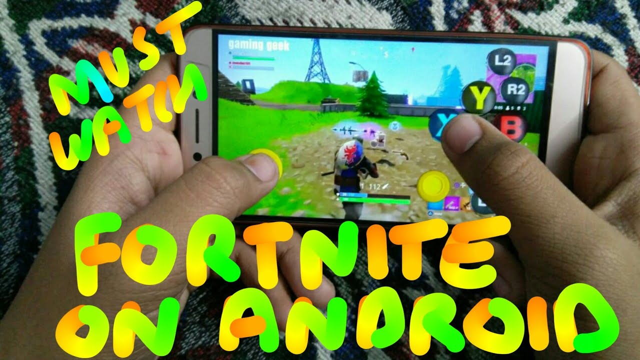 Fortnite Battle Royale For Android Apk And Ios Latest 2018 Version Starting from scratch with the gameplay of how to install apk version of fortnite. toolsdroid