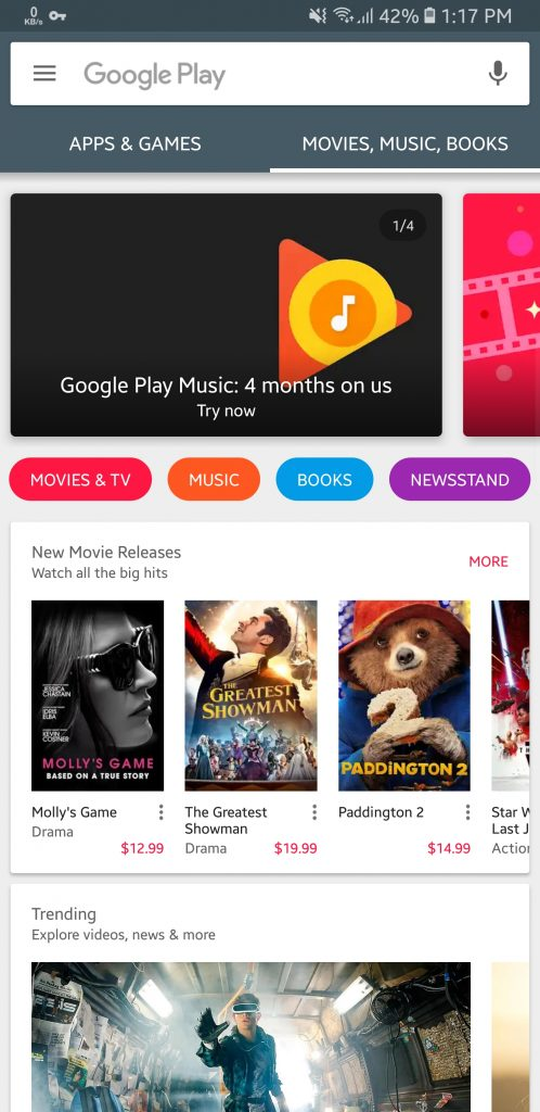 Google Play Store 9.4.18 apk April 2018