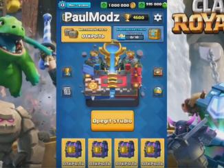 PaulModz Clash Royale 2.1.10 Mod Apk Private Server
