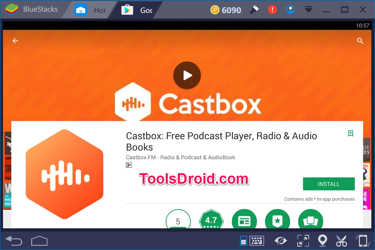 Castbox For Pc Windows 10   Free Podcast Player  Radio  U0026 Audio Books