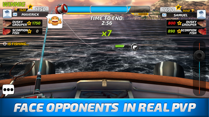 Fishing Clash Catching Fish 1.0.21 Mod Apk