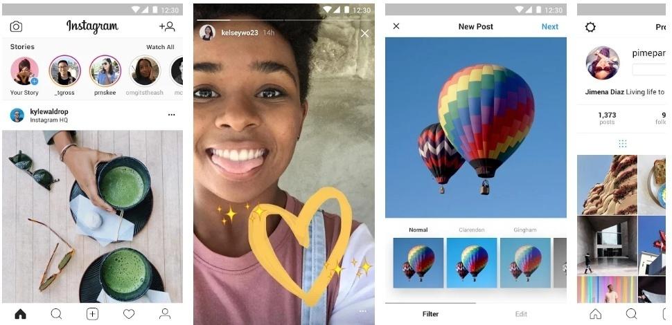 Instagram Lite PC Windows