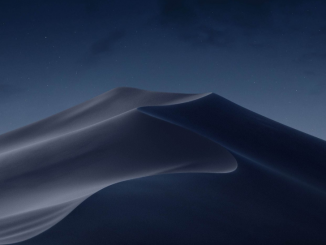 MacOS Mojave Stock Wallpaper