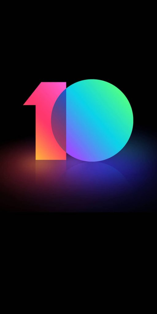 Download MIUI 10 Stock Wallpapers