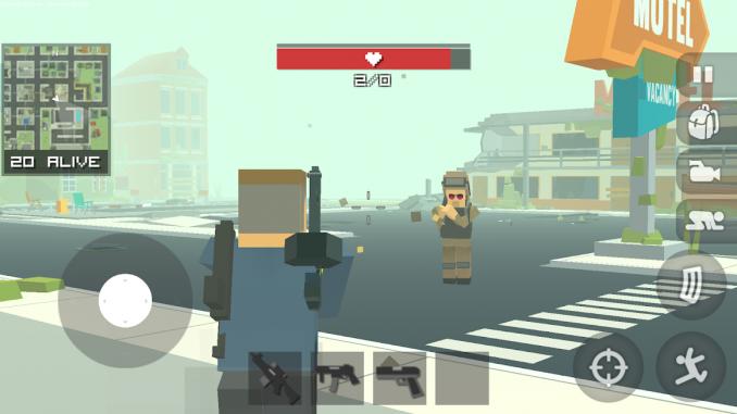 Battlegrounds Craft Survival for PC