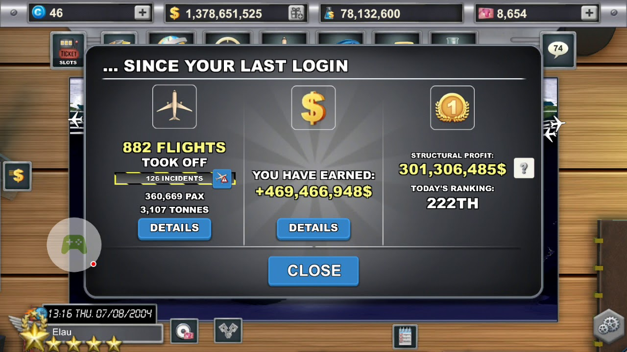 Airlines Manager Tycoon 2018 Mod Apk 2.8.21 Hack