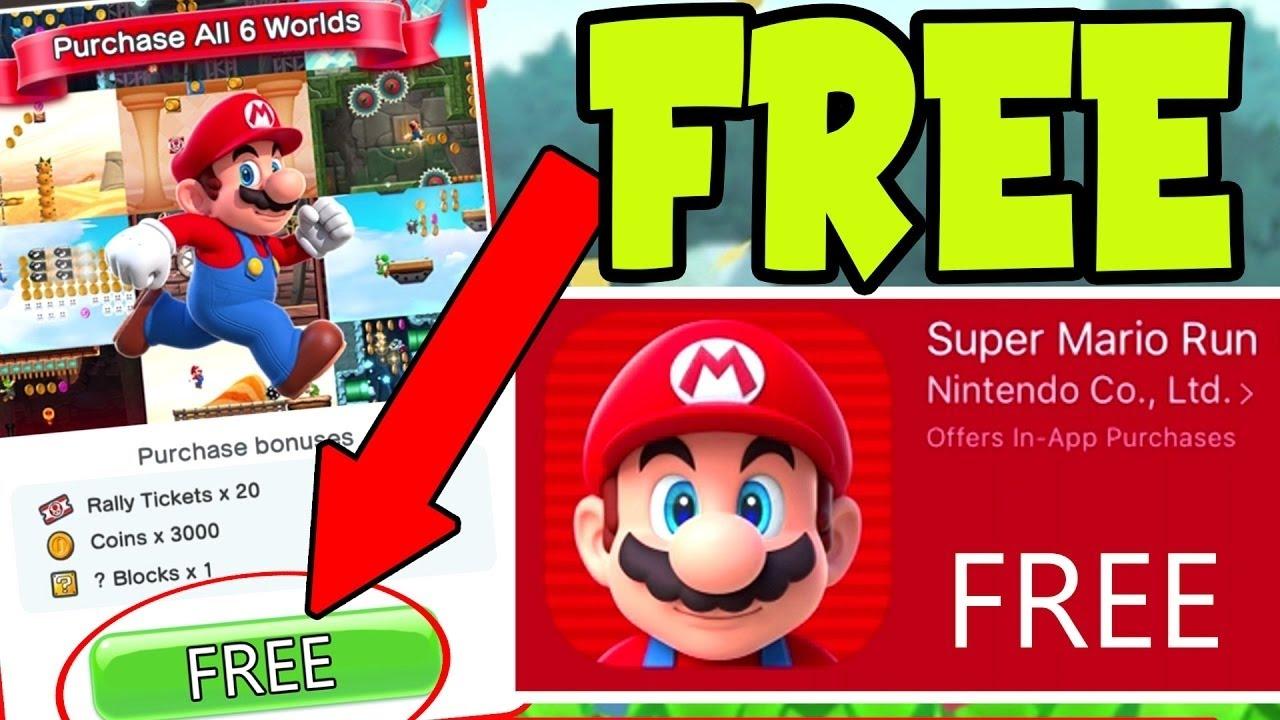 Super Mario Run 3.0.11 Mod apk