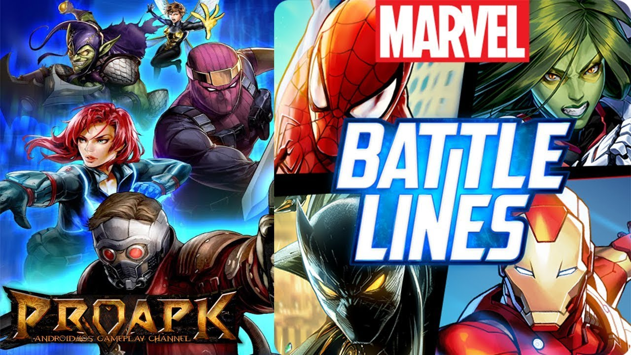 Marvel battle Lines Mod apk hack cheats