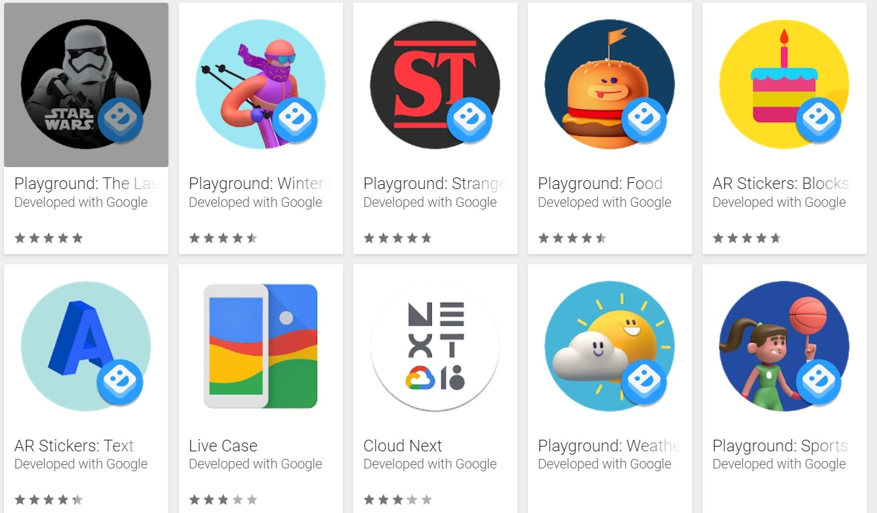 Google Camera 6.1 Mod apk Playground Stickers