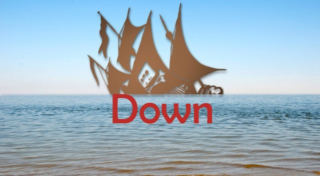 The Pirates bay Down