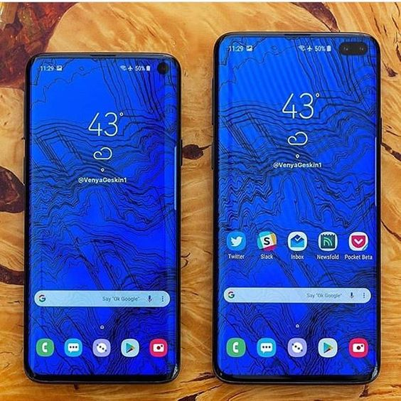 Galaxy S10 Stock Wallpapers