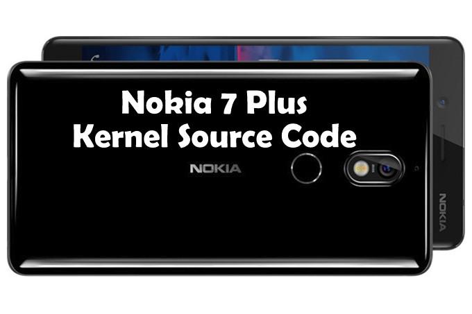 Nokia 7 Plus Kernel Source Code