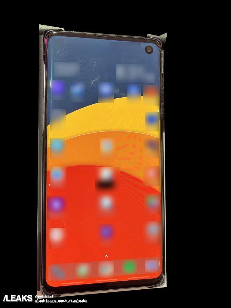Samsung Galaxy S10 leaked
