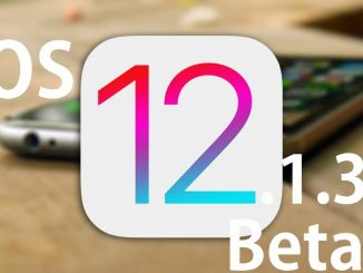 iOS 12.1.3 Beta 3 ipsw files download