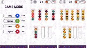 Bubble Sort Color Puzzle Mod Apk