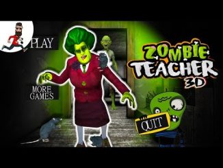 Scary Zombie Teacher Neighbor Horror Mod Apk