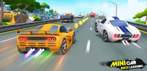 Mini Car Race Legends Mod Apk