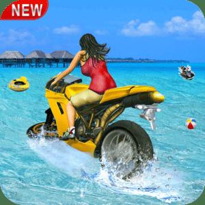 Water Surfer Racing In Moto Mod Apk