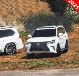 Offroad Lexus 570 Car Mod Apk